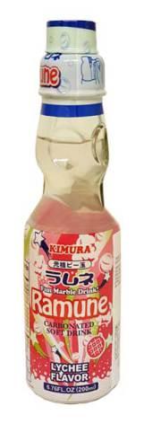 Ramune Lychee 200ml Kimura