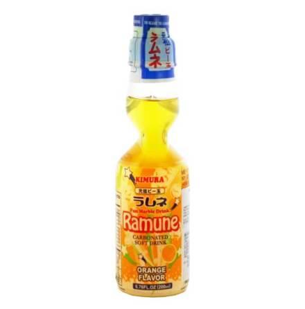 Ramune Orange 200ml Kimura