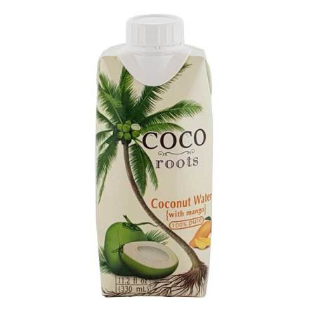 Coconut Water w Mango 330ml Coco Roots