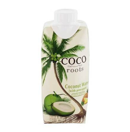 Coconut Water w Pineapple 330ml Coco Roots