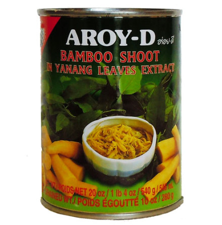 Bamboo Shoot in Yanang 540 g Aroy-D