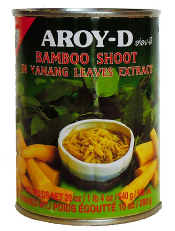 Bamboo Shoot in Yanang 540 g Aroy-D