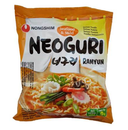 Neoguri Ramyun Seafood & Mild 120g Nongshim