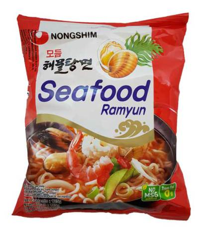 Seafood Ramyun 125g Nongshim