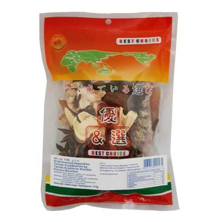 Dried Assorted Vegetables 113g Double Peach