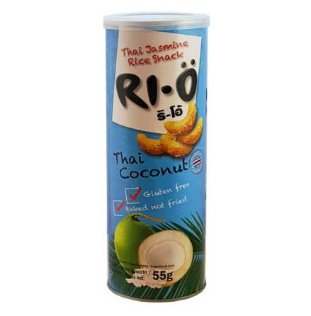 RI-Ö Thai Jasmine Rice Snack Coconut 55g