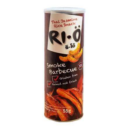 RI-Ö Thai Jasmine Rice Snack Smoke-BBQ 55g