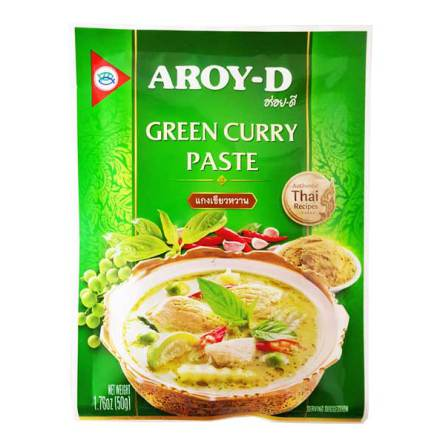 Green Curry Paste 50 g Aroy-D