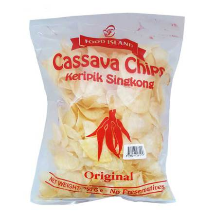 Salted Cassava Chips 250g Wiltra