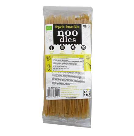 Organic Brown Rice Noodles 200g Asia-Tica