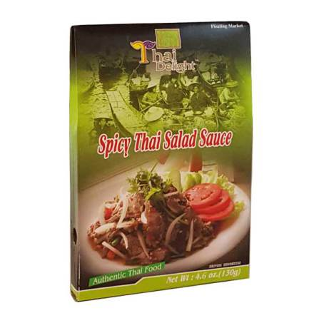 Spicy Thai Salad Sauce 130 g Thai Delight