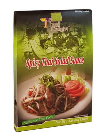 Spicy Thai Salad Sauce 130 g Thai Delight