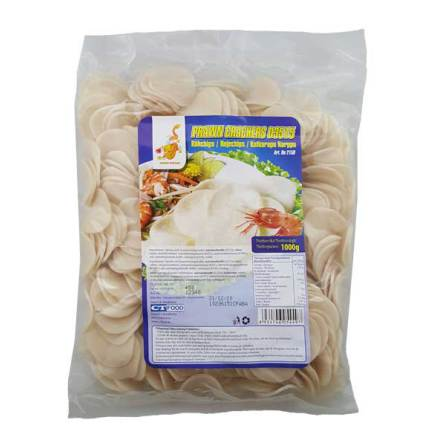 Prawn Crackers 1kg Golden Dragon