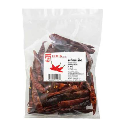 Dried Chili Stemless 57 g Cock