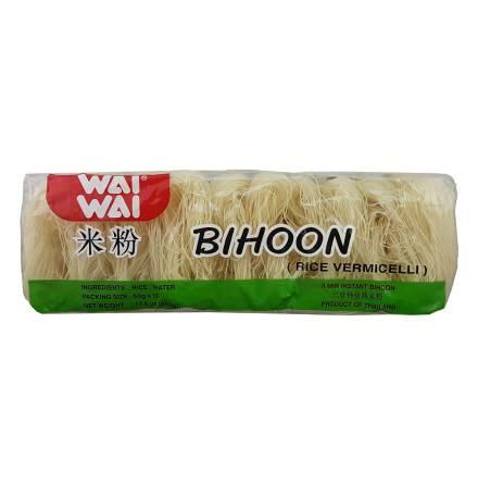 Bihoon Rice Vermicelli (10x50g) 500g Wai Wai