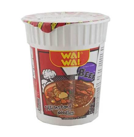 Wai Wai CUP Beef Noodles