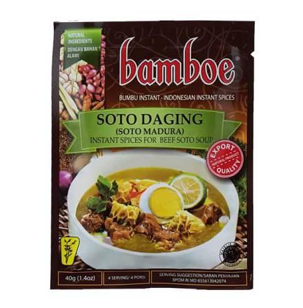 Soto Daging (Soto Madura) 40g Bamboe
