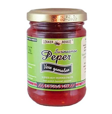 Suriname Grinded Chili 145g Lekker-Bekkie