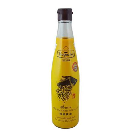 Premium Light Soy Sauce 500ml Megachef