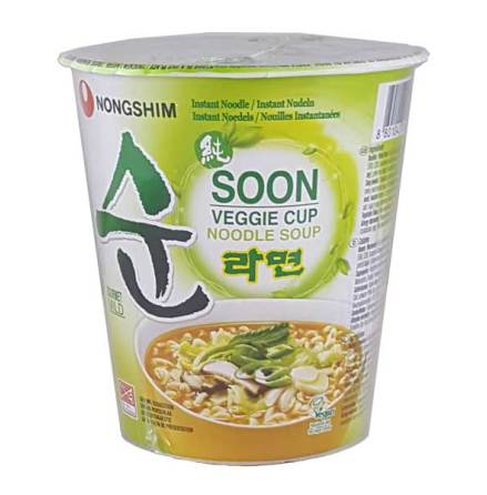 Nongshim Cup Soon Veggie 68g