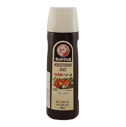 Worcestershire Sauce 500 ml Bull-Dog
