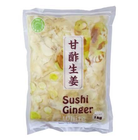 Sushi Ginger White 1kg Nature´s Best Harvest
